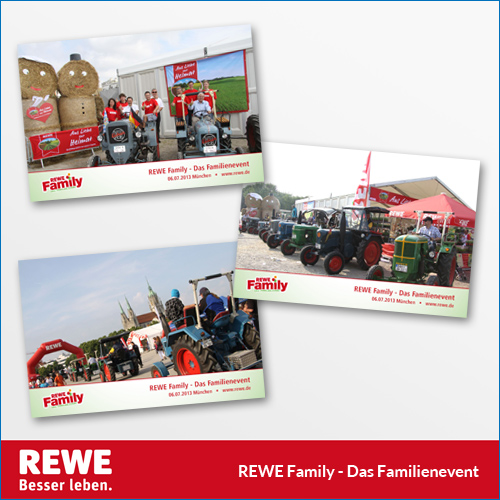 REWE Family Event in M�nchen